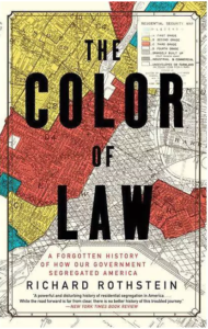 The Color of Law book cover