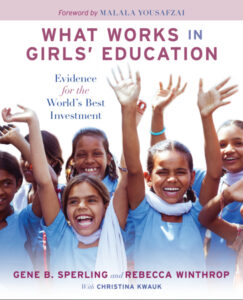 What Works in Girls' Education book cover image